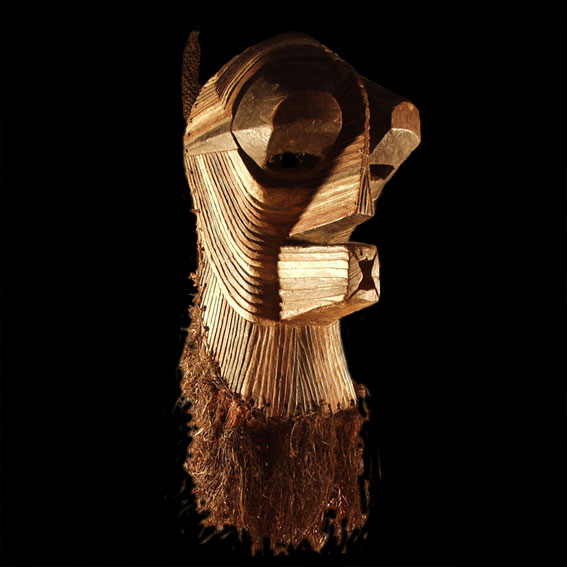 Kifwebe mask, Songye people, Democratic Republic of Congo
