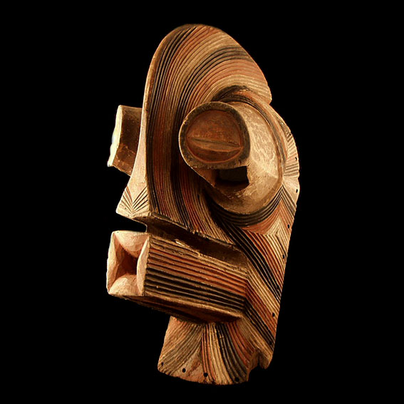 Kifwebe mask, Songe people, Democratic Republic of Congo